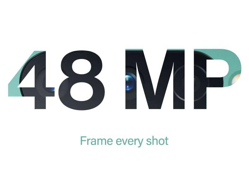 48 mega pixel