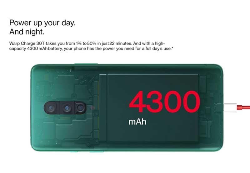 OnePlus 8 Pro battery