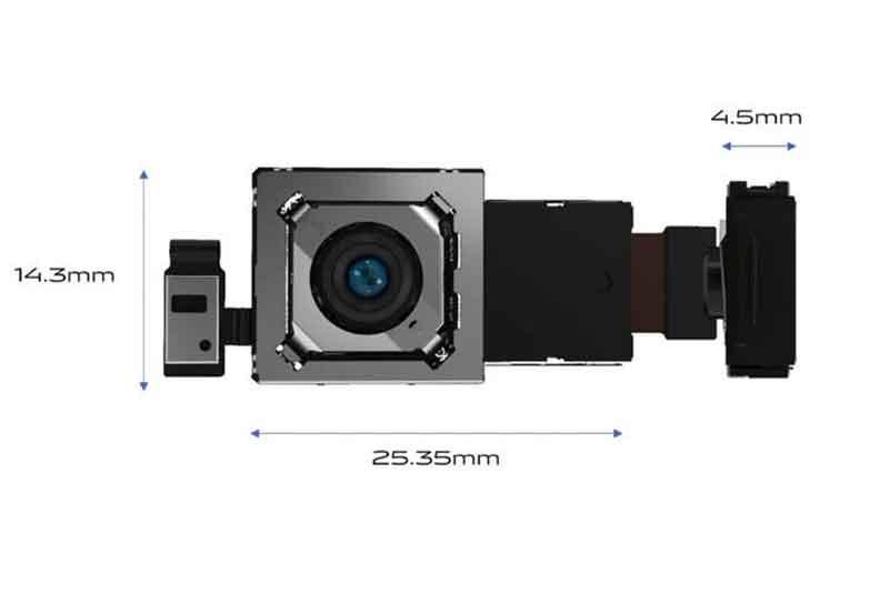 Vivo X50 gimble camera